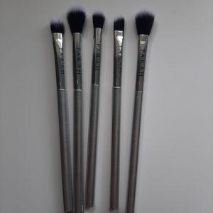 Five piece F.A.R.A.H eye brush set